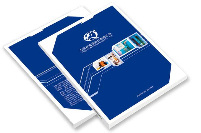 石家庄富强染料有限公司产品画册设计
